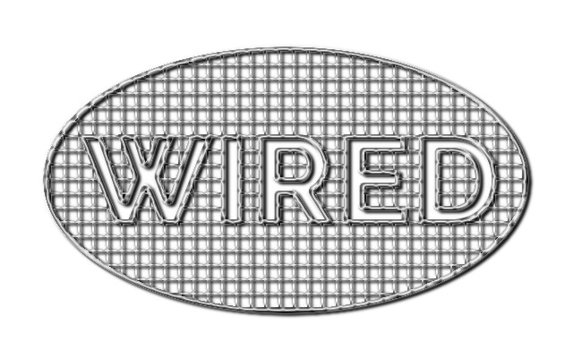 wired text